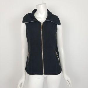 Calvin Klein Performance Black Fleece Vest